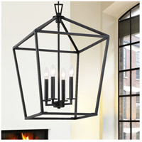 Savoy House 3-321-4-44 Townsend 4 Light 17 inch Classic Bronze Foyer Light Ceiling Light alternative photo thumbnail