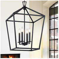 Savoy House 3-321-4-89 Townsend 4 Light 17 inch Matte Black Foyer Light Ceiling Light alternative photo thumbnail