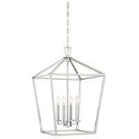 Savoy House 3-321-4-SN Townsend 4 Light 17 inch Satin Nickel Foyer Light Ceiling Light