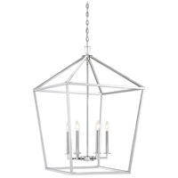 Savoy House 3-322-6-109 Townsend 6 Light 24 inch Polished Nickel Foyer Light Ceiling Light