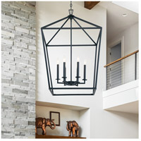 Savoy House 3-322-6-89 Townsend 6 Light 24 inch Matte Black Foyer Light Ceiling Light alternative photo thumbnail