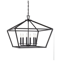 Townsend 6 Light 26 inch Classic Bronze Hanging Lantern Ceiling Light