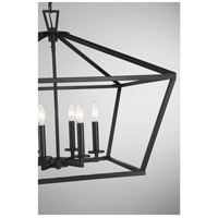 Savoy House 3-325-6-89 Townsend 6 Light 26 inch Matte Black Foyer Light Ceiling Light alternative photo thumbnail