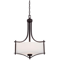 Colton 3 Light 18 inch English Bronze Pendant Ceiling Light