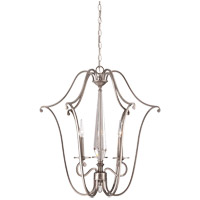 Kendall 3 Light 25 inch Vintage Nickel Foyer Ceiling Light