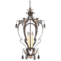 Savoy House Hensley 3 Light Foyer Pendant in Fiesta Bronze 3-4056-3-124 photo thumbnail