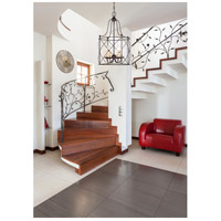 Savoy House 3-4070-4-13 Seneca 4 Light 14 inch English Bronze Foyer Light Ceiling Light alternative photo thumbnail