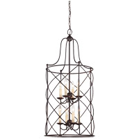 Savoy House Seneca 8 Light Pendant in English Bronze 3-4071-8-13