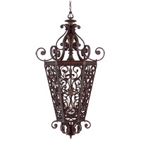 Savoy House Cordoba 6 Light Foyer Pendant in Antique Copper 3-4089-6-16