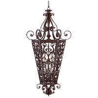 Savoy House Cordoba 8 Light Foyer Pendant in Antique Copper 3-4090-8-16