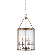 Savoy House Foxcroft 9 Light Foyer in Aged Brass 3-4152-9-291