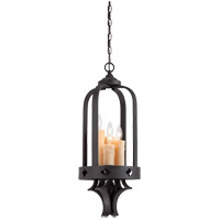 Savoy House 3-4400-4-17 Torre 4 Light 11 inch Forged Black Foyer Ceiling Light photo thumbnail