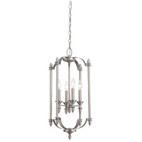 Savoy House Aldrich 4 Light Foyer in Pewter 3-4500-4-69