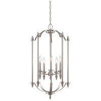 Savoy House Aldrich 5 Light Foyer in Pewter 3-4501-5-69