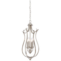 Savoy House Macree 4 Light Foyer in Polished Nickel 3-4502-4-109