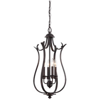 Savoy House Macree 4 Light Foyer in English Bronze 3-4502-4-13