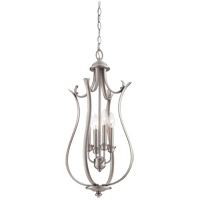 Savoy House Macree 4 Light Foyer in Pewter 3-4502-4-69