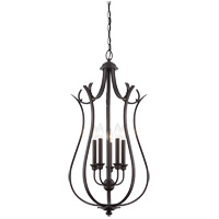Savoy House Macree 5 Light Foyer in English Bronze 3-4503-5-13