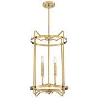 Savoy House 3-4901-4-322 Kent 4 Light 16 inch Warm Brass Foyer Ceiling Light