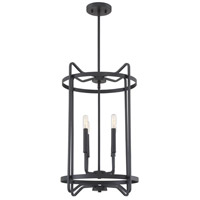 Savoy House 3-4901-4-89 Kent 4 Light 16 inch Matte Black Foyer Ceiling Light