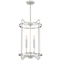 Savoy House 3-4901-4-SN Kent 4 Light 16 inch Satin Nickel Foyer Ceiling Light