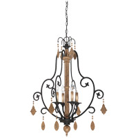 Savoy House Aragon 4 Light Foyer Light in Penate Gold 3-502-4-286