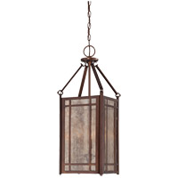 Savoy House Lovett 3 Light Foyer Pendant in Oiled Burnished Bronze 3-5390-3-28