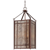 Savoy House Lovett 4 Light Foyer Pendant in Oiled Burnished Bronze 3-5391-4-28