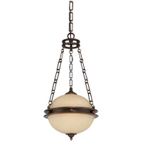 Savoy House Boutique 2 Light Foyer Pendant in Burnished Sienna 3-5592-2-290