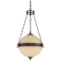 Savoy House Boutique 3 Light Foyer Pendant in Burnished Sienna 3-5593-3-290