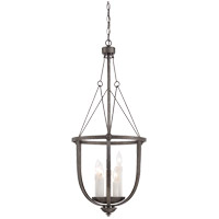 Epoque 5 Light 16 inch Antique Nickel Foyer Lantern Ceiling Light