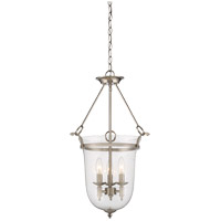 Trudy 3 Light 16 inch Satin Nickel Foyer Pendant Ceiling Light