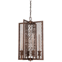 Savoy House Barclay 4 Light Foyer in Guilded Bronze 3-7601-4-131