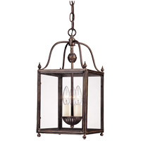 Savoy House 3-80029-3-323 Crabapple 3 Light 8 inch Old Bronze Foyer Ceiling Light alternative photo thumbnail