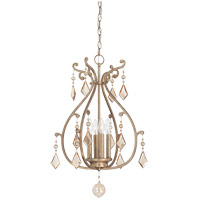 Rothchild 4 Light 18 inch Oxidized Silver Foyer Ceiling Light