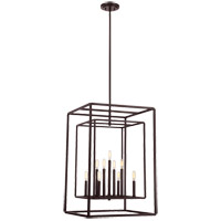 Savoy House Berlin 6 Light Foyer Light in English Bronze 3-823-9-13