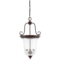 Savoy House Signature 3 Light Foyer Light in English Bronze 3-8521-3-13 photo thumbnail