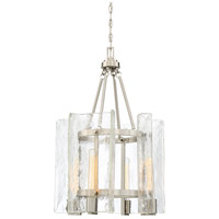 Savoy House 3-9052-4-SN Handel 4 Light 17 inch Satin Nickel Foyer Lantern Ceiling Light