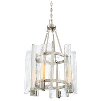 Savoy House 3-9052-4-SN Handel 4 Light 17 inch Satin Nickel Foyer Light Ceiling Light alternative photo thumbnail