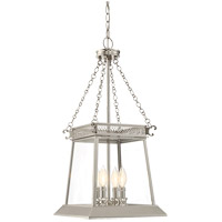 Norwich 4 Light 13 inch Polished Nickel Foyer Ceiling Light
