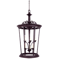 Savoy House Entry Lanterns Venetian Guild Open Foyer in Slate 3-9415-6-25 photo thumbnail