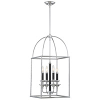 Black Chrome Foyer Pendants