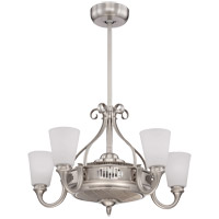 Savoy House Borea 5 Light Fandelier in Satin Nickel 32-326-FD-SN