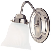 Savoy House 8-3280-1-SN Brighton 1 Light 4 inch Satin Nickel Bath Light Wall Light
