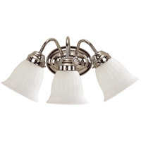 Brighton 3 Light 11 inch Chrome Vanity Light Wall Light
