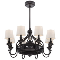 Savoy House Brisa 8 Light Fandelier in English Bronze 35-328-FD-13