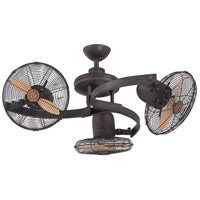 Savoy House 38-951-CA-13 Circulaire III 38 inch English Bronze with Beechwood Blades Outdoor Ceiling Fan, 3 Headed alternative photo thumbnail