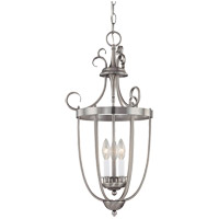 Signature 3 Light 14 inch Pewter Foyer Lantern Ceiling Light