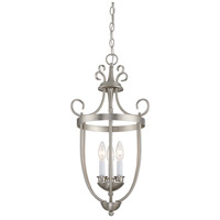 Savoy House 3P-80200-3-69 Signature 3 Light 14 inch Pewter Entry Lantern Ceiling Light alternative photo thumbnail