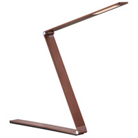Fusion Z 18 inch 10 watt Rose Gold Bronze Task Lamp Portable Light